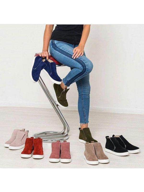 Ботинки замш любой цвет