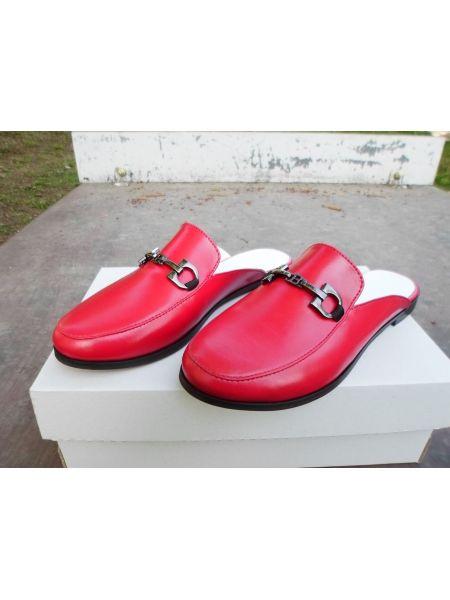1851 Мюлли кожа красные